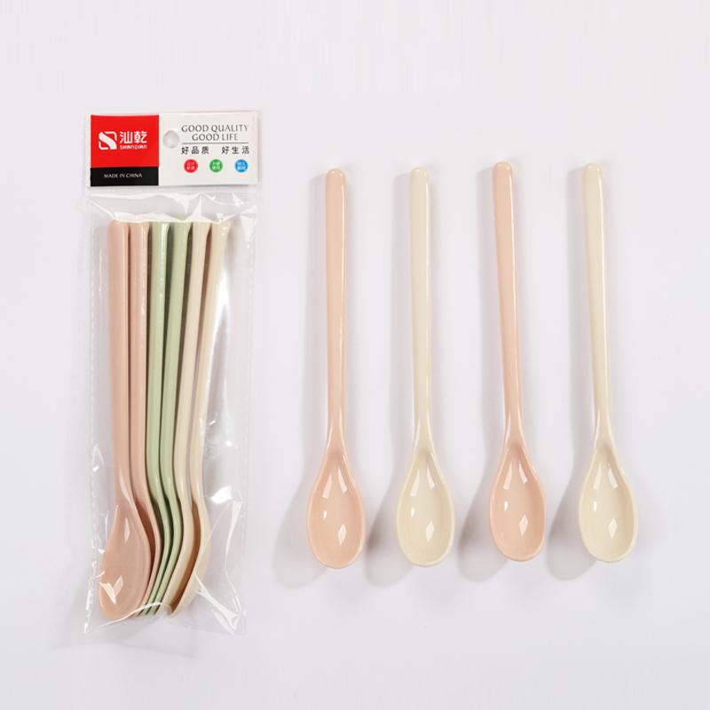 塑料长柄汤匙