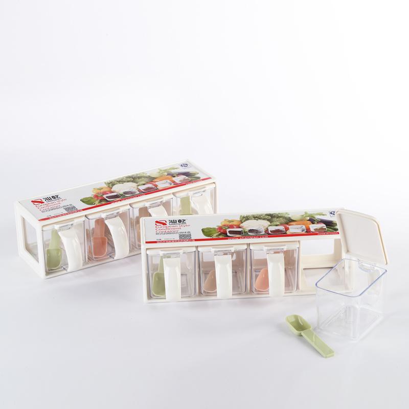 欧式四格组合调味盒